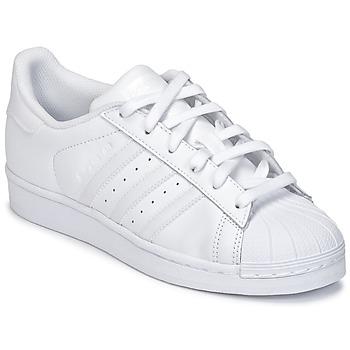 Obuća Djeca Niske tenisice adidas Originals SUPERSTAR Bijela