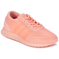 Obuća Djevojčica Niske tenisice adidas Originals LOS ANGELES J Ružičasta / Korálová