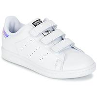 Obuća Djevojčica Niske tenisice adidas Originals STAN SMITH CF C Bijela