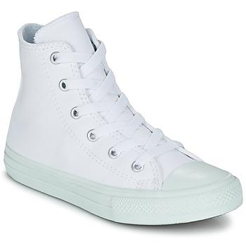 Obuća Djevojčica Visoke tenisice Converse CHUCK TAYLOR ALL STAR II PASTEL SEASONAL TD HI Bijela / Blue / Nebesko plava
