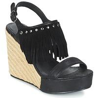 Obuća Žene  Sandale i polusandale LPB Shoes SABINE Crna