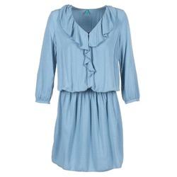 Odjeća Žene  Kratke haljine Benetton AFIDOUL Blue