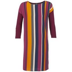 Odjeća Žene  Kratke haljine Benetton VAGODA Bordo / Multicolour