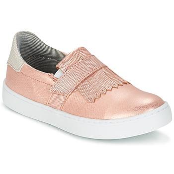 Obuća Djevojčica Slip-on cipele Bullboxer ADJAGUE Ružičasta / Zlatna