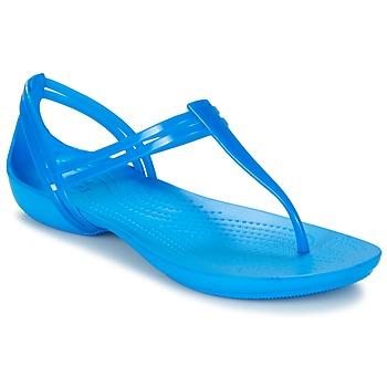 Obuća Žene  Sandale i polusandale Crocs CROCS ISABELLA T-strap Plava