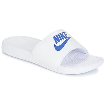 Obuća Muškarci  Sportske natikače Nike BENASSI JUST DO IT Bijela / Blue