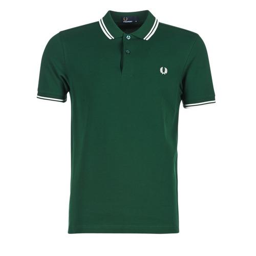 Odjeća Muškarci  Polo majice kratkih rukava Fred Perry THE FRED PERRY SHIRT Zelena