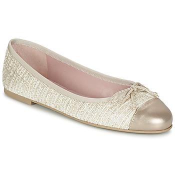 Obuća Žene  Balerinke i Mary Jane cipele Pretty Ballerinas AMI Gold / Ružičasta