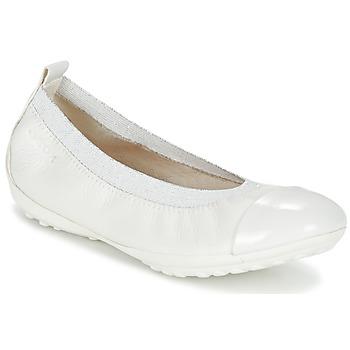 Obuća Djevojčica Balerinke i Mary Jane cipele Geox J PIUMA BALL B Bijela