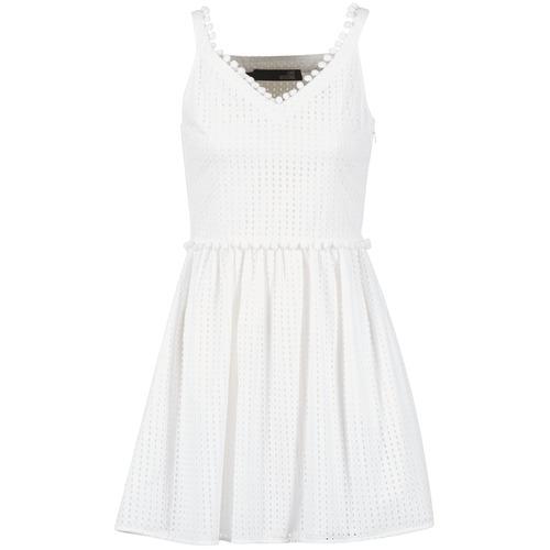 Odjeća Žene  Kratke haljine Love Moschino WVF3880 Bijela