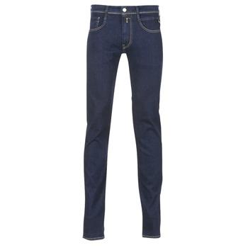 Odjeća Muškarci  Slim traperice Replay WOUAPO Blue / Brut