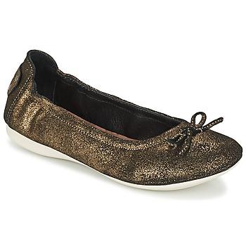 Obuća Žene  Balerinke i Mary Jane cipele PLDM by Palladium MOMBASA Gold / Crna
