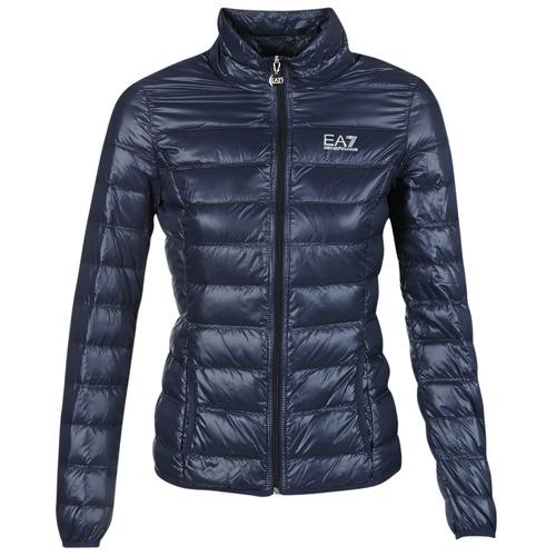 Odjeća Žene  Pernate jakne Emporio Armani EA7 TRAIN CORE Blue