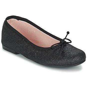 Obuća Djevojčica Balerinke i Mary Jane cipele Citrouille et Compagnie GLIGLO Crna / Šljokice