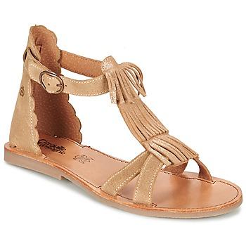 Obuća Djevojčica Sandale i polusandale Citrouille et Compagnie GAMELA Camel