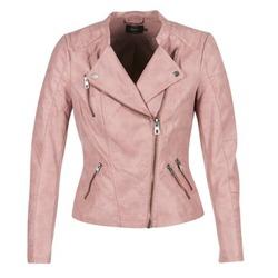 Odjeća Žene  Kožne i sintetičke jakne Only AVA Ružičasta