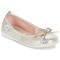 Obuća Djevojčica Balerinke i Mary Jane cipele Citrouille et Compagnie GRAGON Bež / Šljokice