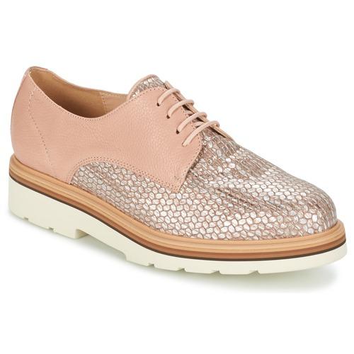 Obuća Žene  Derby cipele Fericelli GRATY Ružičasta / Nude