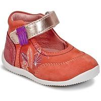 Obuća Djevojčica Balerinke i Mary Jane cipele Kickers BIMAMBO Narančasta / Fuchsiová / Ružičasta