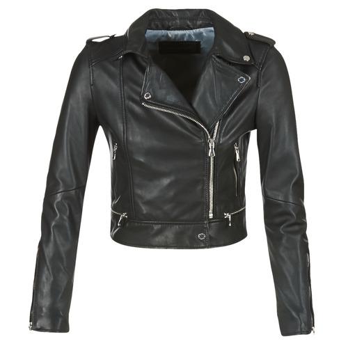 Odjeća Žene  Kožne i sintetičke jakne Oakwood YOKO Crna