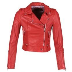 Odjeća Žene  Kožne i sintetičke jakne Oakwood YOKO Red
