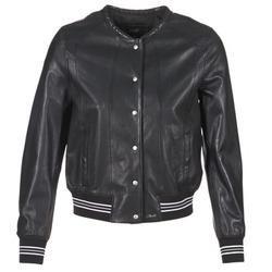 Odjeća Žene  Kožne i sintetičke jakne Oakwood 62298 Crna