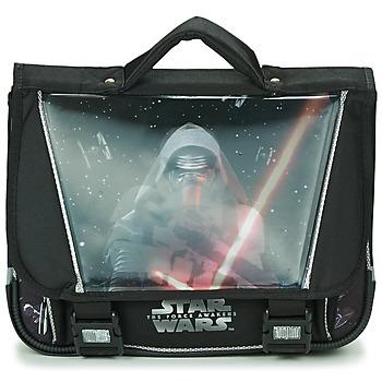 Torbe Dječak  Školske torbe Disney STAR WARS CARTABLE 38CM Crna