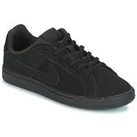 Obuća Djeca Niske tenisice Nike COURT ROYALE GRADE SCHOOL Crna