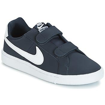 Obuća Djeca Niske tenisice Nike COURT ROYALE PRESCHOOL Blue / Bijela