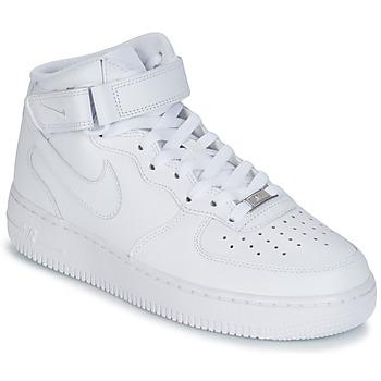 Obuća Muškarci  Visoke tenisice Nike AIR FORCE 1 MID 07 LEATHER Bijela