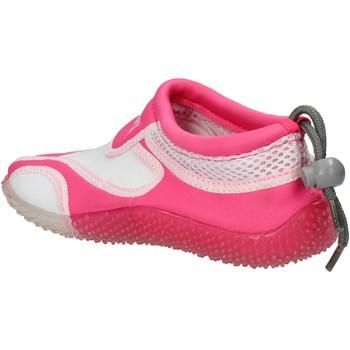 Obuća Djevojčica Modne tenisice Everlast sneakers bianco tessuto rosa gomma AF851 multicolore