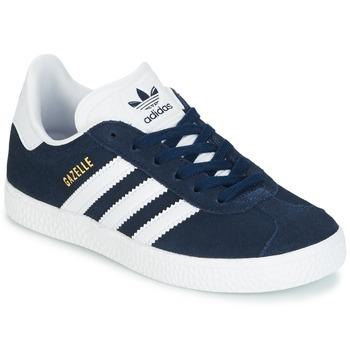Obuća Djeca Niske tenisice adidas Originals Gazelle C Blue