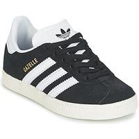 Obuća Dječak  Niske tenisice adidas Originals GAZELLE C Crna