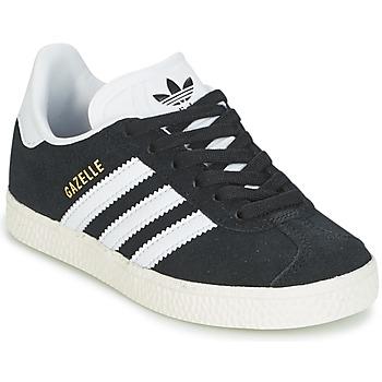 Obuća Djeca Niske tenisice adidas Originals GAZELLE C Crna