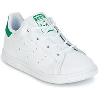 Obuća Djeca Niske tenisice adidas Originals STAN SMITH I Bijela / Zelena