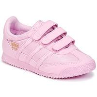 Obuća Djevojčica Niske tenisice adidas Originals DRAGON OG CF I Ružičasta