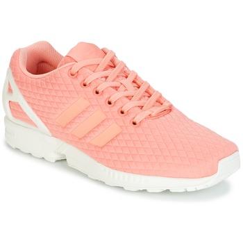 Obuća Žene  Niske tenisice adidas Originals ZX FLUX W Ružičasta / Bijela