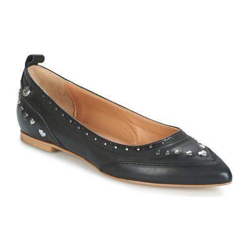 Obuća Žene  Balerinke i Mary Jane cipele Love Moschino JA11010G14 Crna