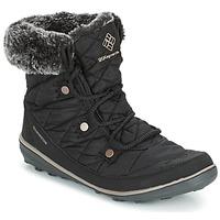 Obuća Žene  Čizme za snijeg Columbia HEAVENLY SHORTY OMNI-HEAT Crna