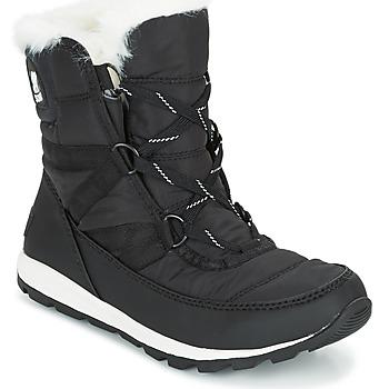 Obuća Žene  Čizme za snijeg Sorel WHITNEY SHORT LACE Crna