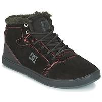 Obuća Djeca Visoke tenisice DC Shoes CRISIS HIGH WNT Crna / Red / Bijela