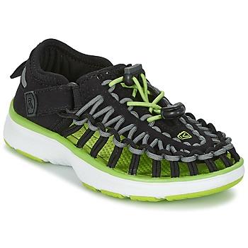Obuća Djeca Sportske sandale Keen UNEEK O2 Crna