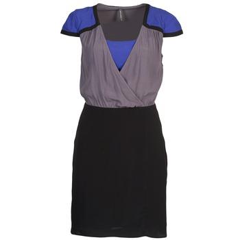 Odjeća Žene  Kratke haljine Naf Naf LYFAN Crna / Siva / Blue