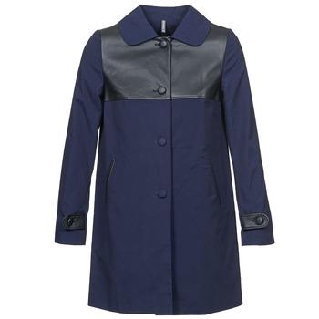 Odjeća Žene  Kaputi Naf Naf BAUNS Blue