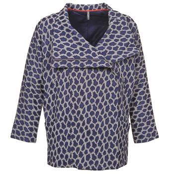 Odjeća Žene  Kaputi Naf Naf ADARMELA Blue
