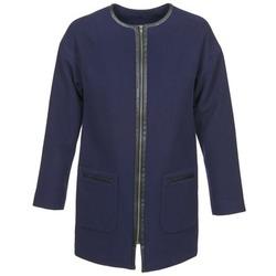 Odjeća Žene  Kaputi Naf Naf ALYSON Blue