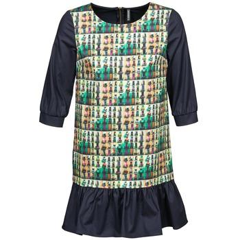 Odjeća Žene  Kratke haljine Naf Naf ECAPS Crna / Multicolour