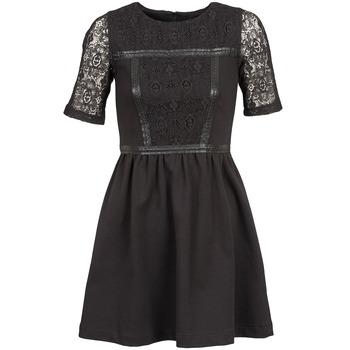 Odjeća Žene  Kratke haljine Naf Naf OBISE Crna