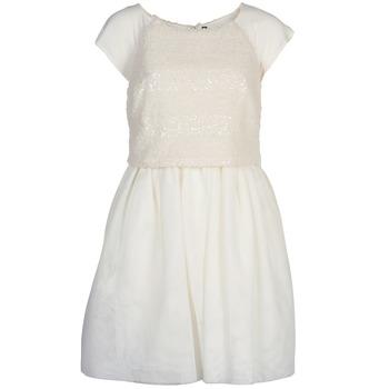 Odjeća Žene  Kratke haljine Naf Naf LYMELL Bijela