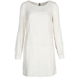 Odjeća Žene  Kratke haljine Naf Naf LYNO Krem boja